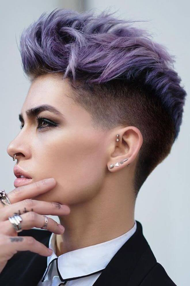 21 Quiff Short Hairstyles For Women