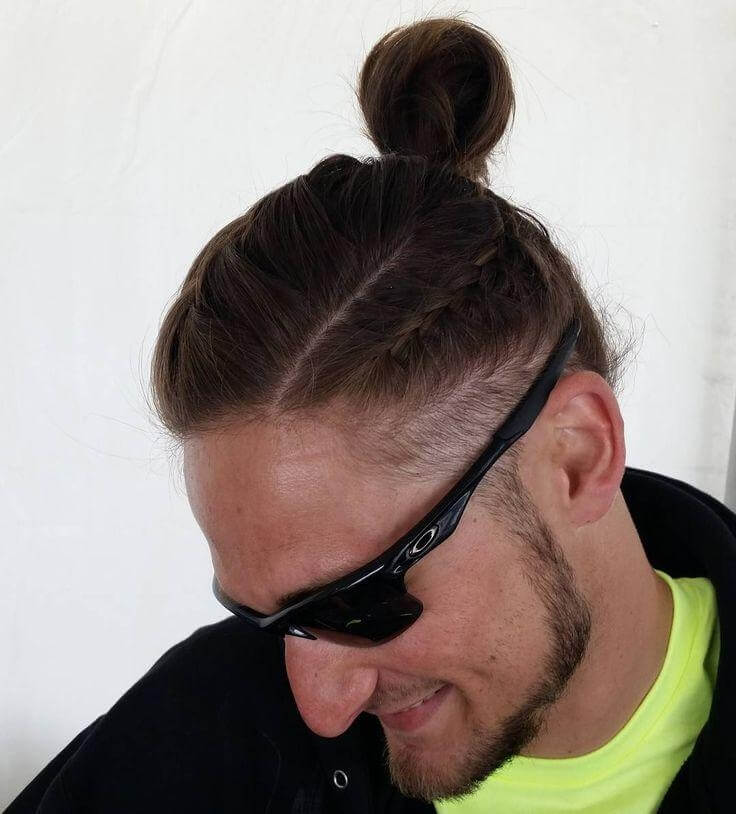 20 Unique Top Knot Hairstyles For Men