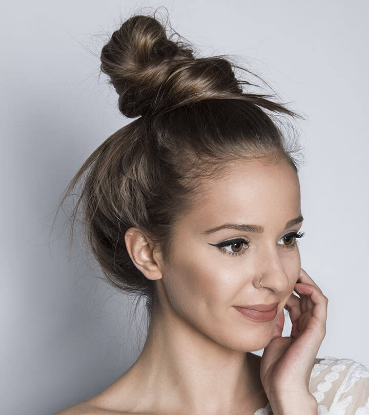 Hairstyle Girl Buns