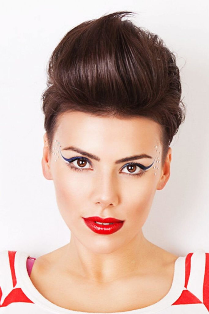 how to make a girl quiff
