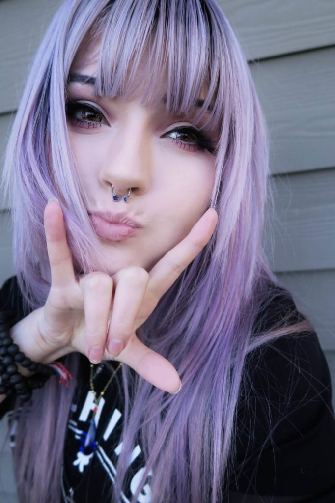 22 Purple Hair Color Ideas For Women