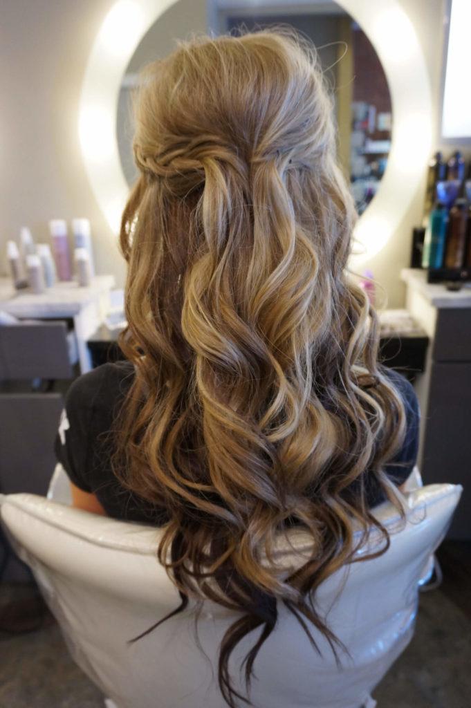 Homecoming Long Hairstyles