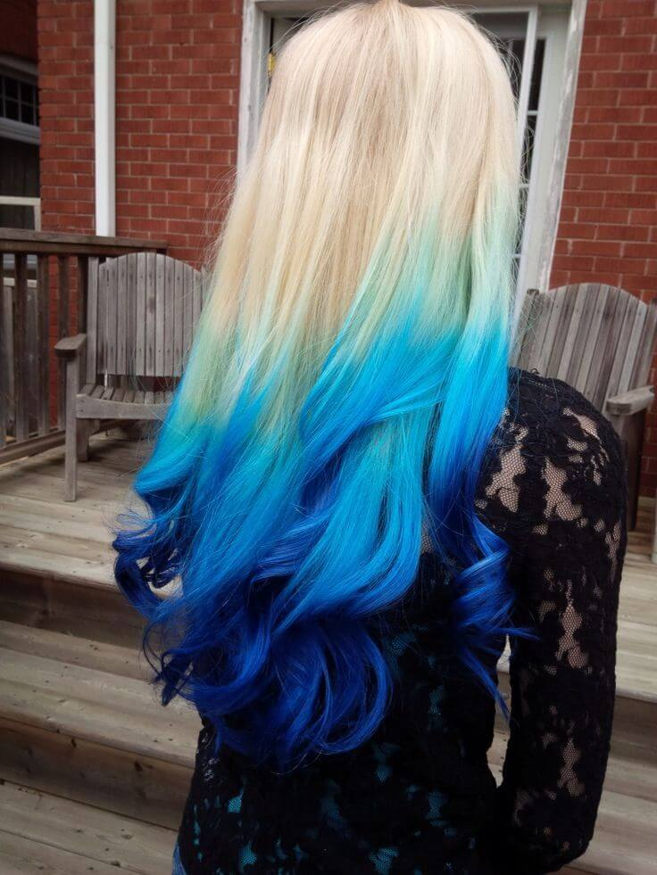 20 Blue Hair Color Ideas For Women