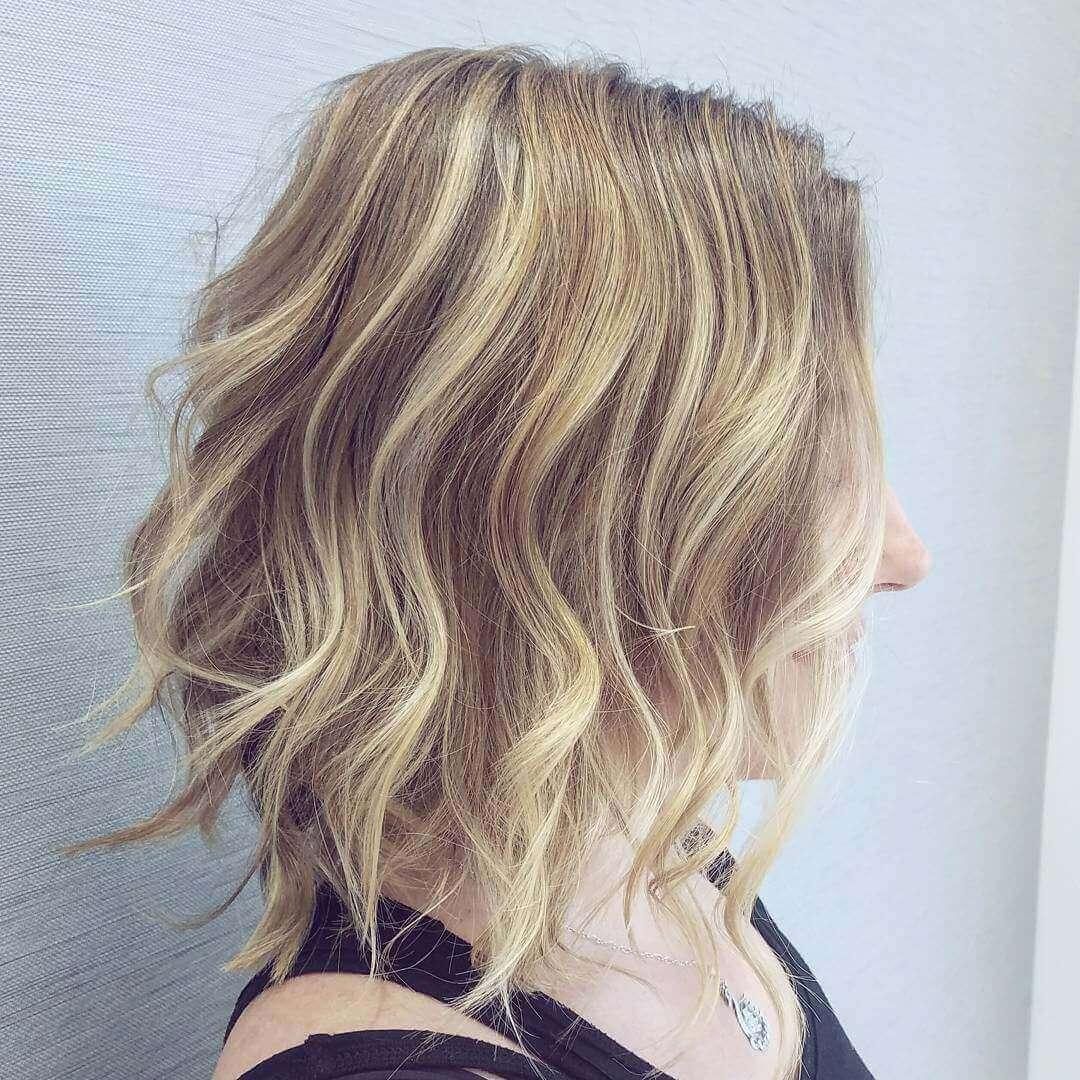 Wavy Medium Hairstyles