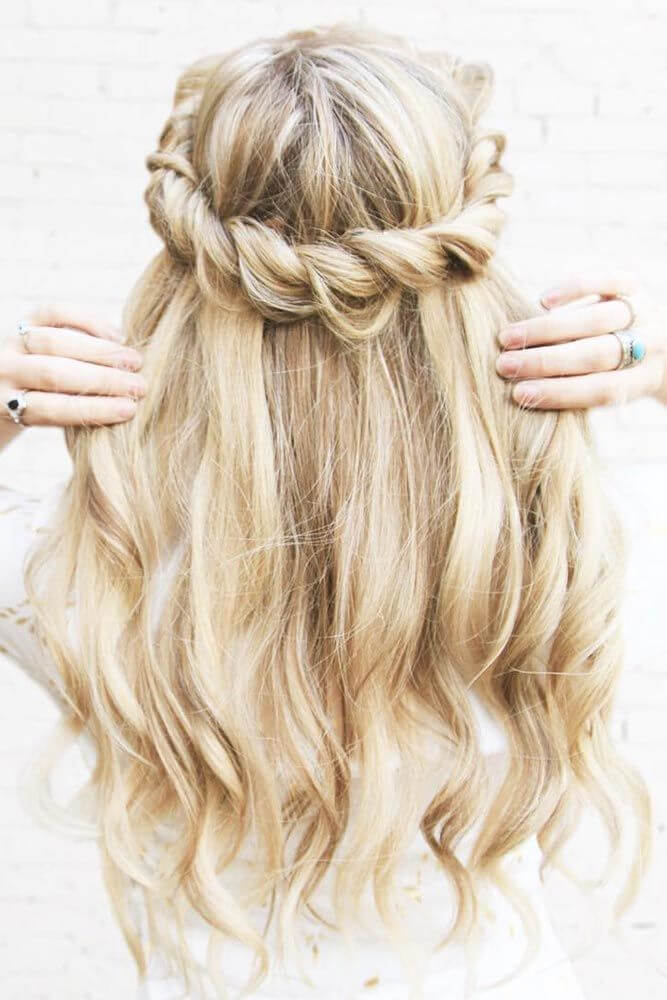 Homecoming Long Hairstyles