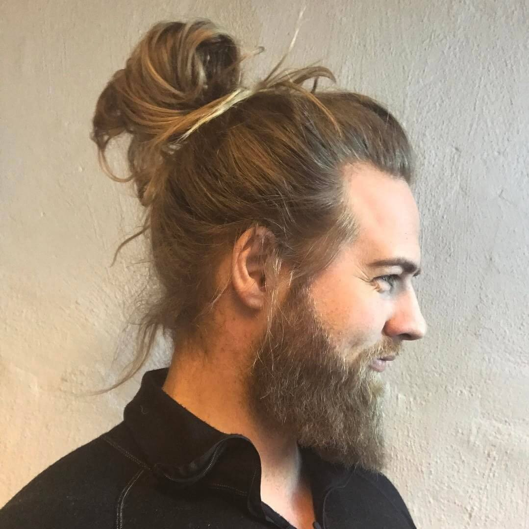 Top Knot Hairstyles for Men
