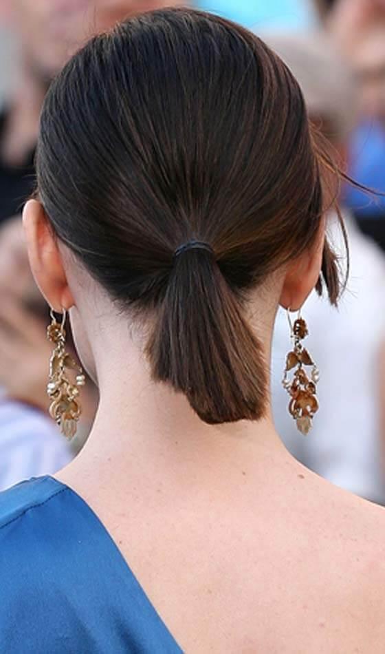 Ponytail Short Hairstyles