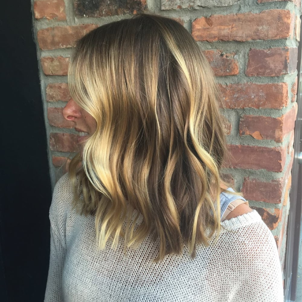 Balayage Medium Hairstyle