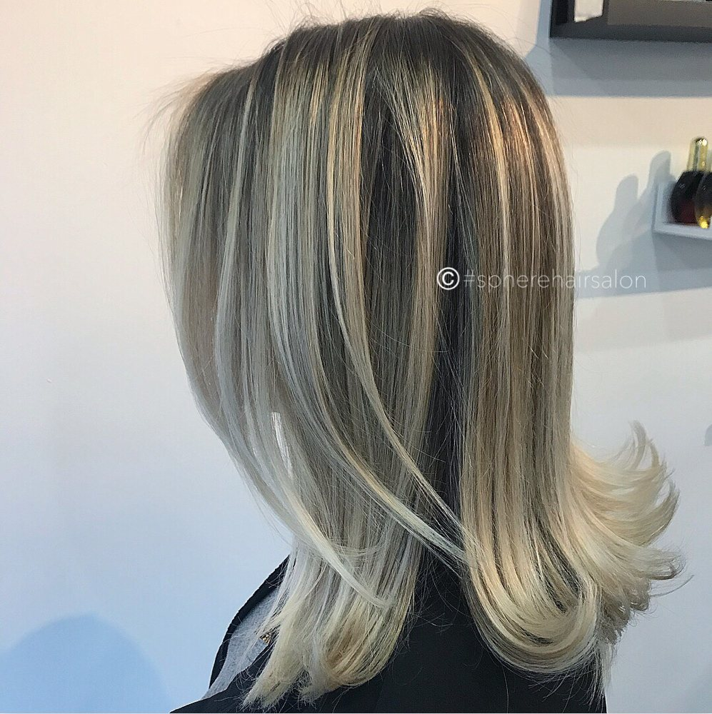 Balayage Retro Medium Hair