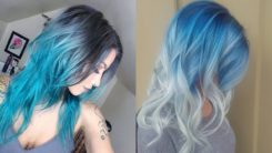 20 Various New Blue Hair Color Ideas for Women