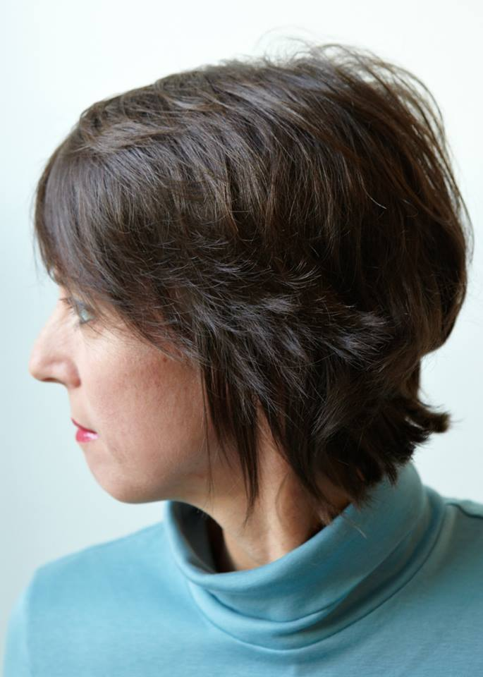 Choppy Short Hairstyle