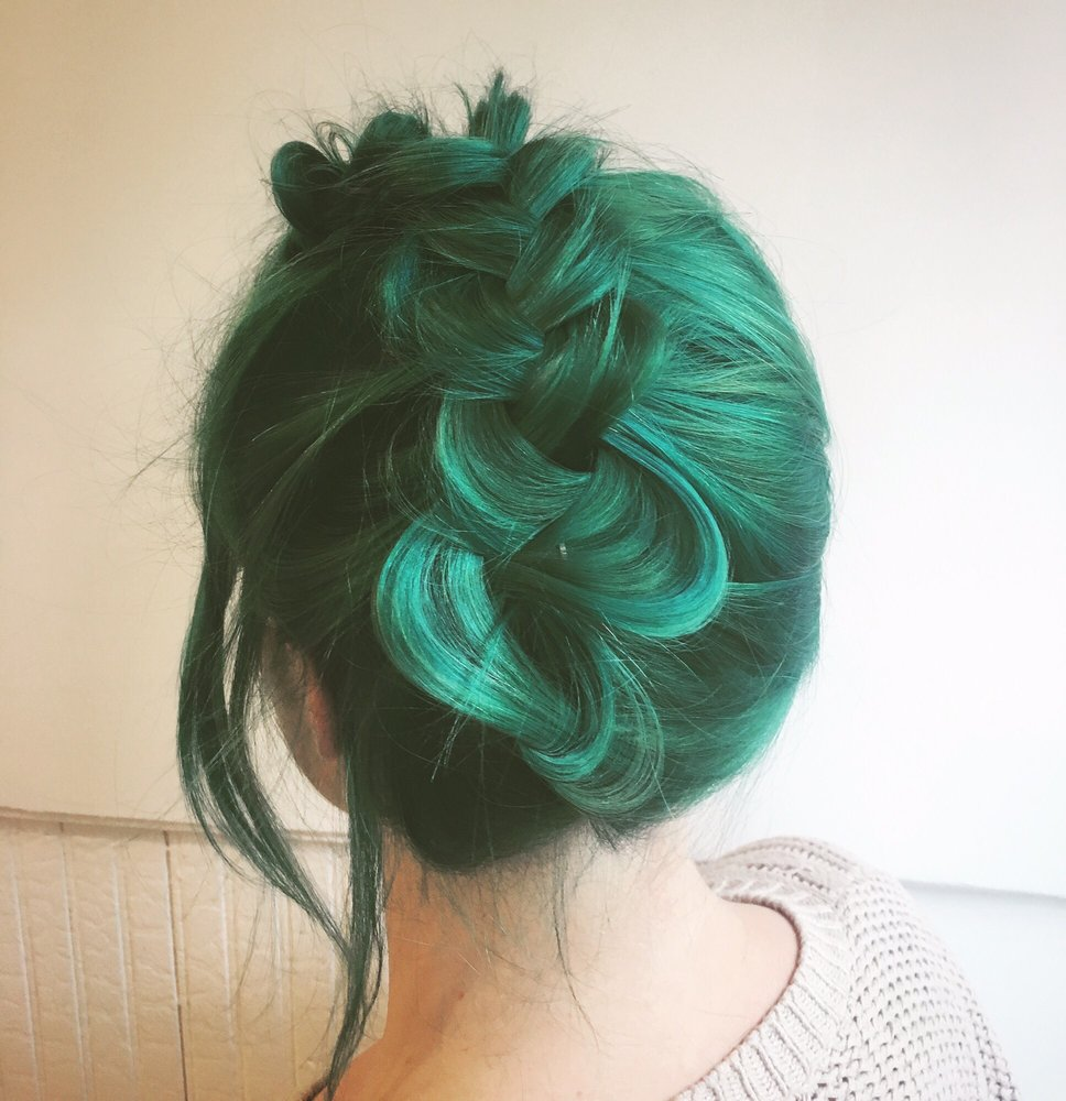 Green Hair Color