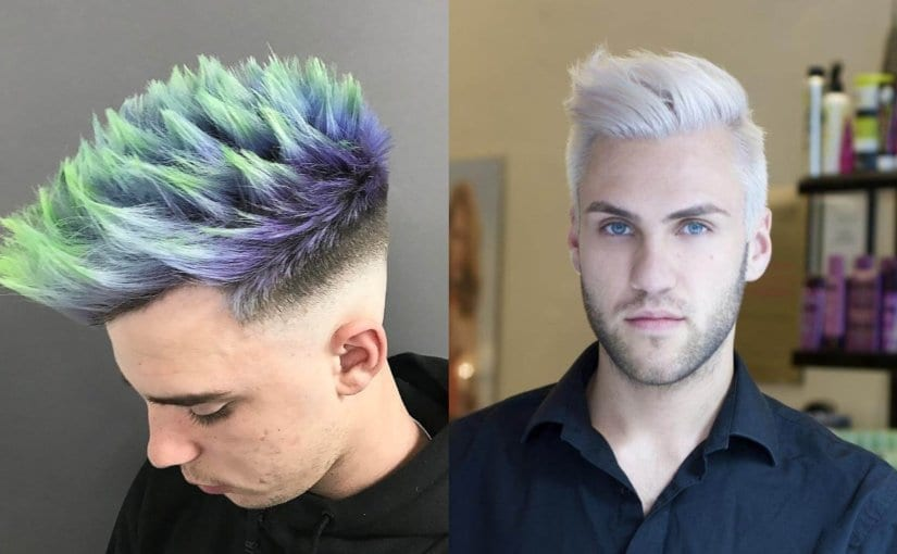 20 Unique Hair Color and Hair Dye Ideas for Men
