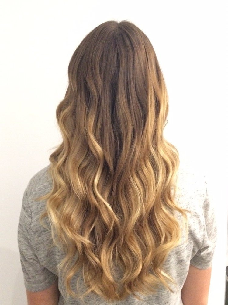 Long Thick Wavy Hair