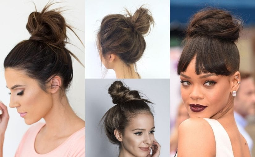 25 Messy Buns Medium Hairstyles To Get Stylish & Cool Look