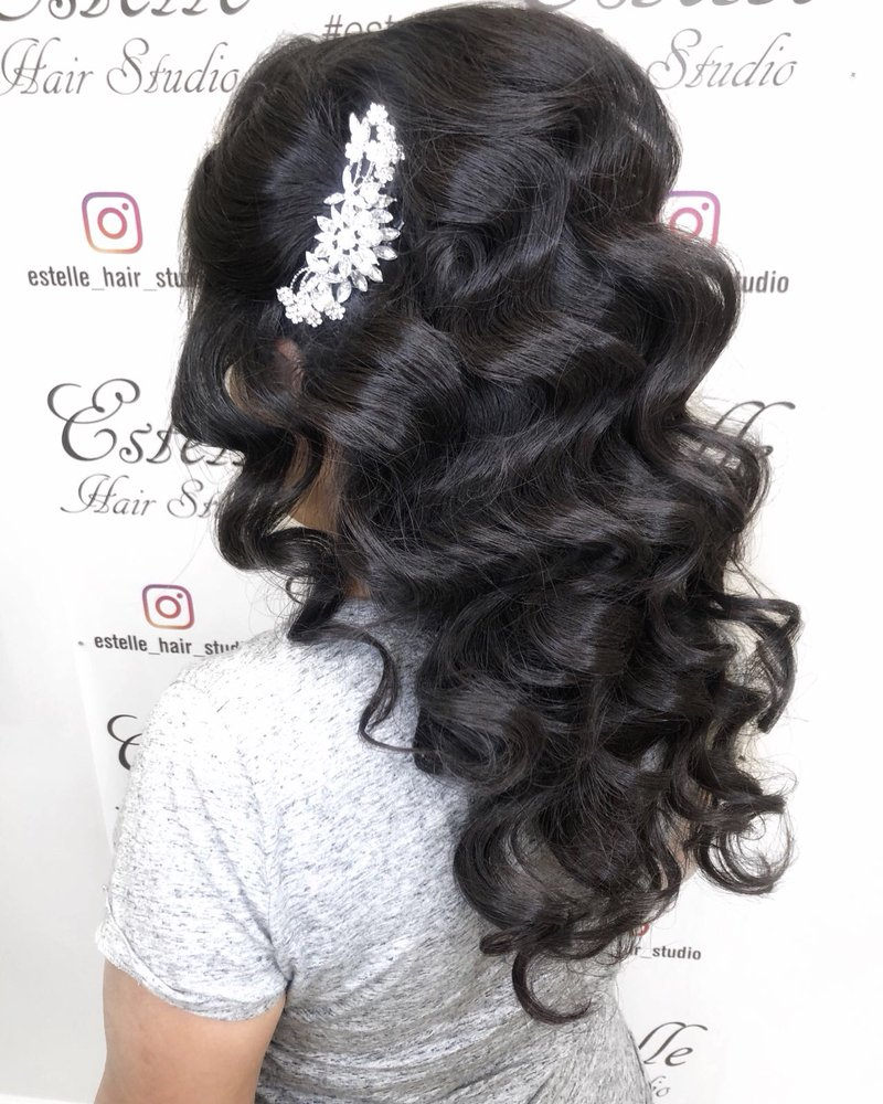 Natural Black Curly Hairstyle