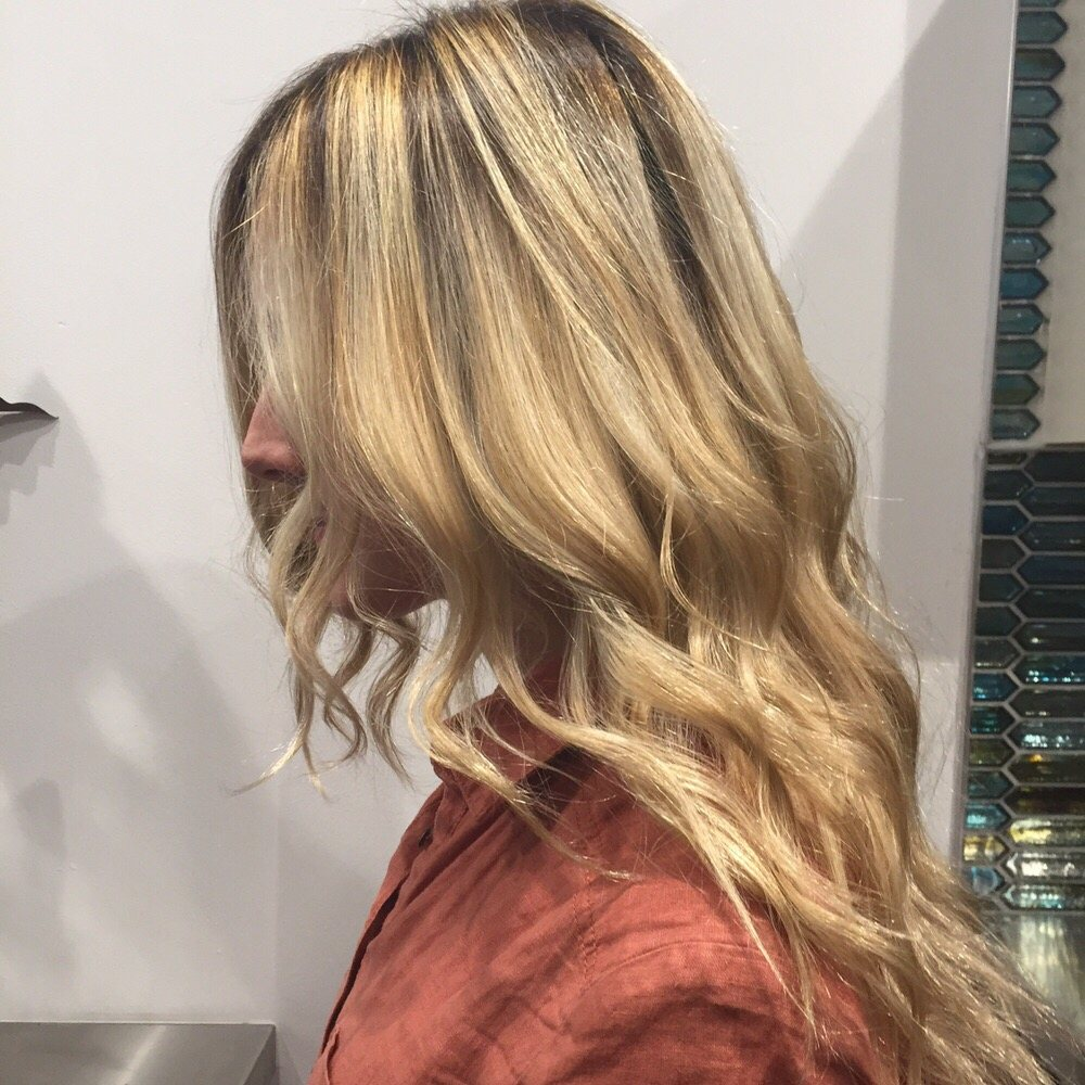 Ombre Long Hairstyle
