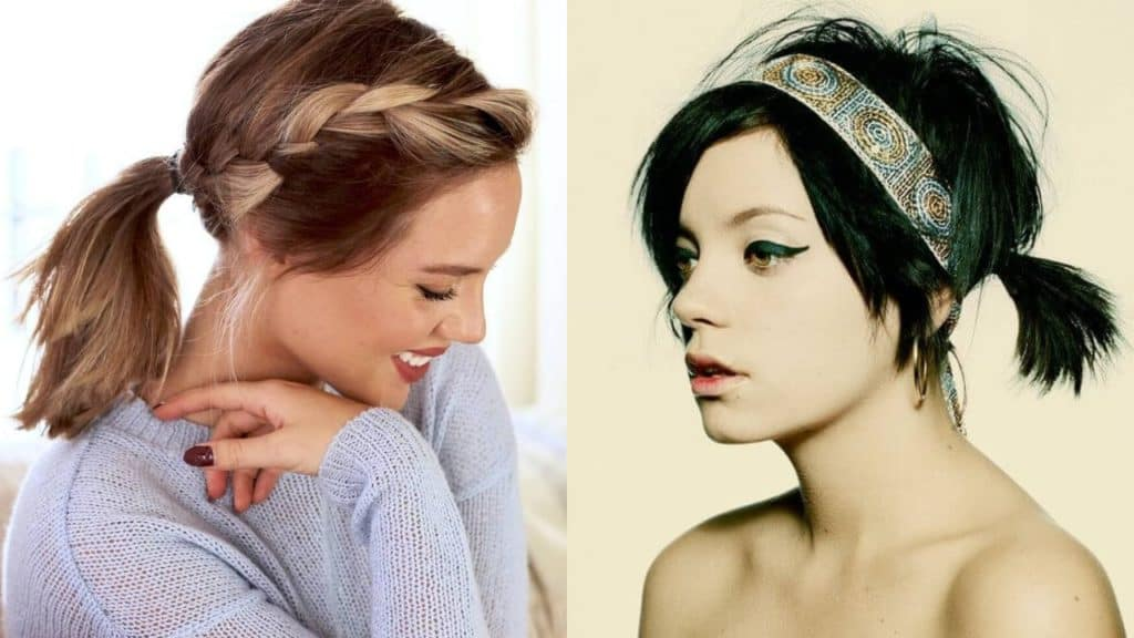 Ponytail Short Hairstyles