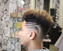 22 Shaved Hairstyles for Men To Look Funky and Stylish