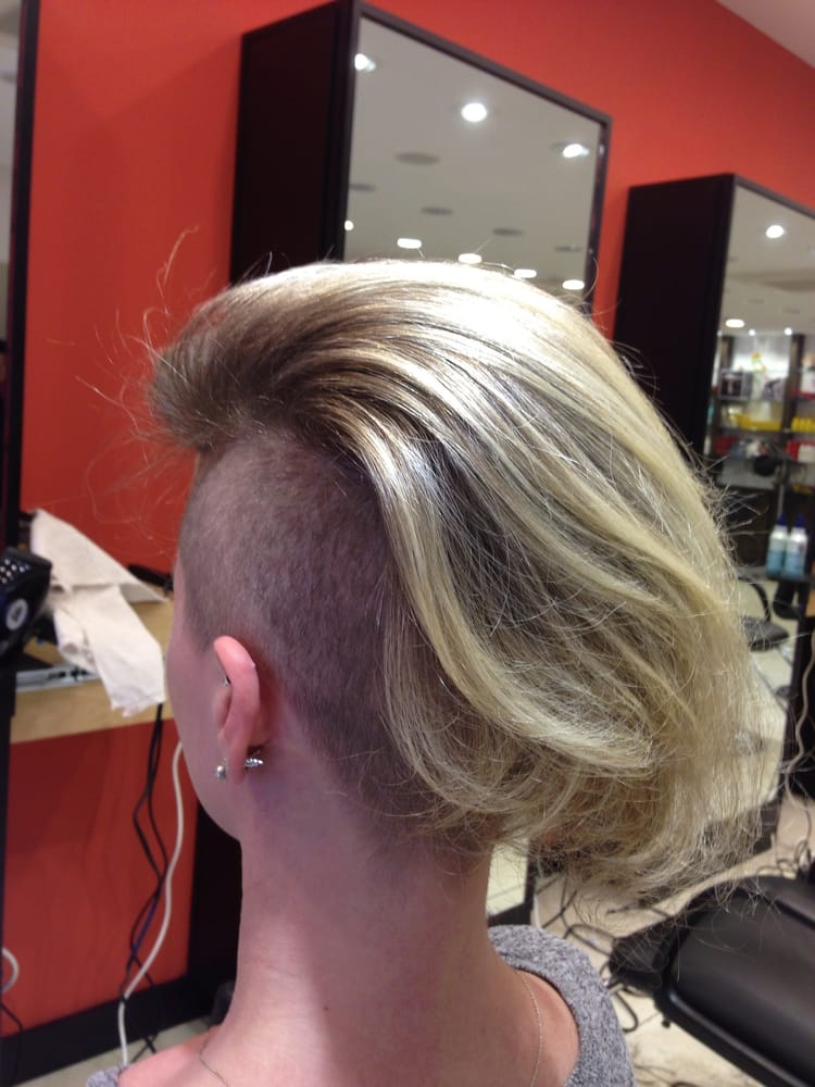 Swept Back Undercut Hairstyle