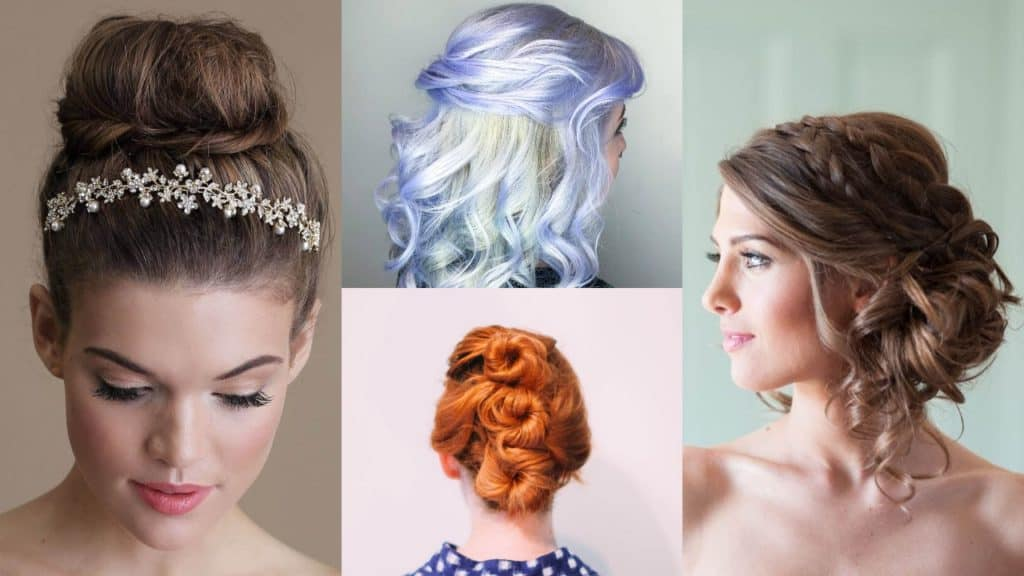 Updo Medium Hairstyles