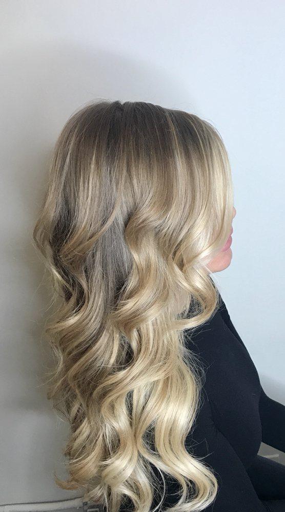 Wavy Auburn Long Hairstyle