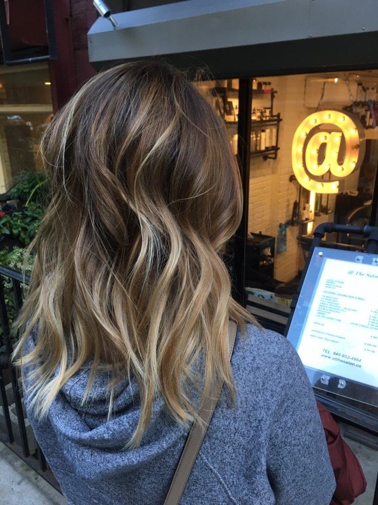 Wavy Shoulder Length Hair