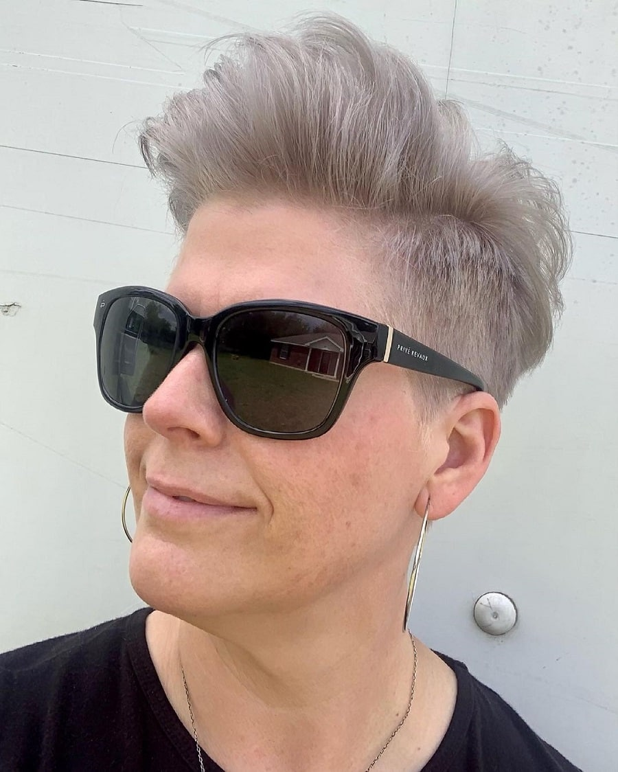 trendy short quiff hairstyles to try