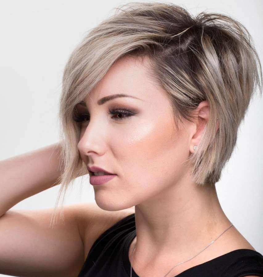 Brown Short Hairstyles