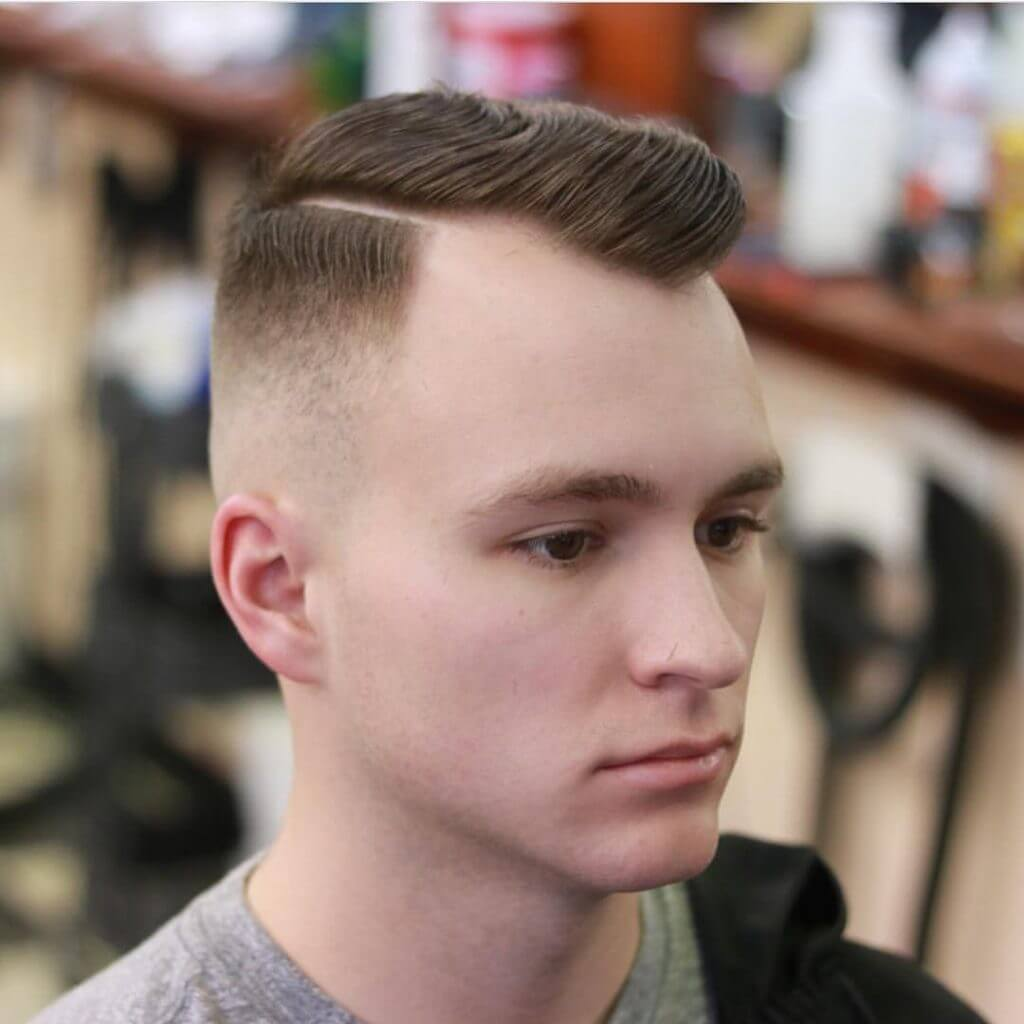 Hairstyle for Balding Men