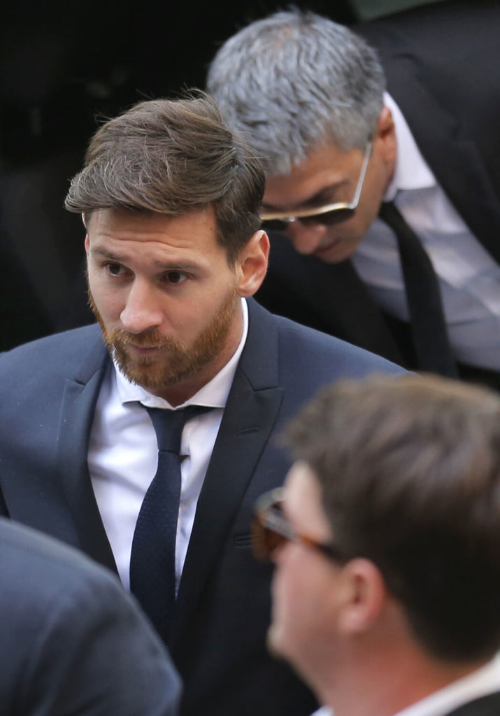 Lionel Messi Hairstyles
