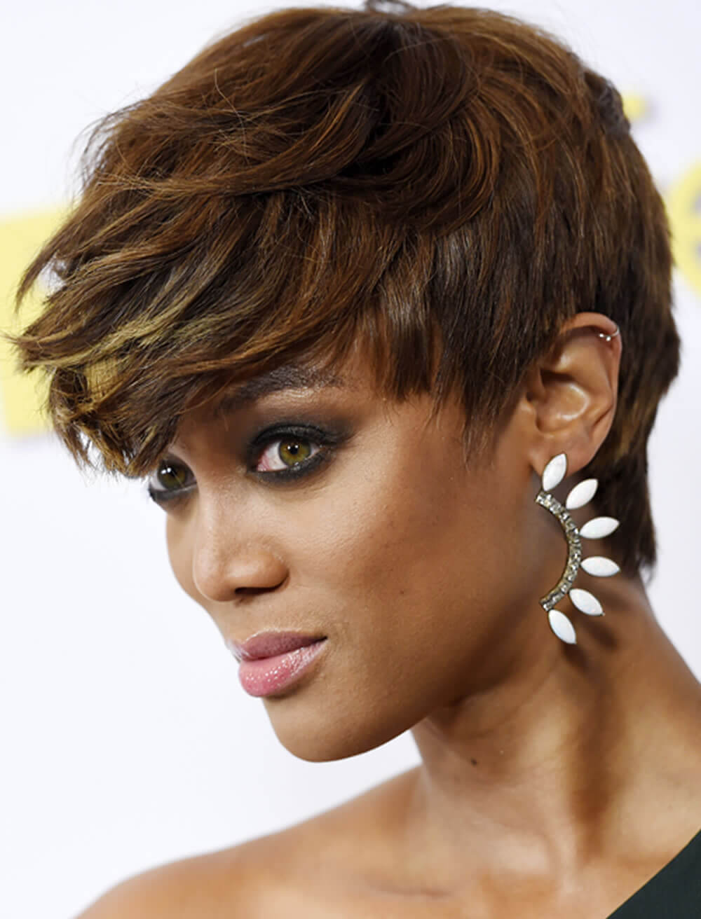 Brown Short Hairstyles