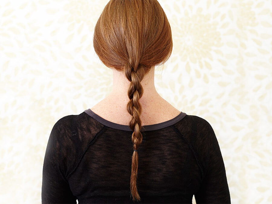 Chain Braid Ponytail