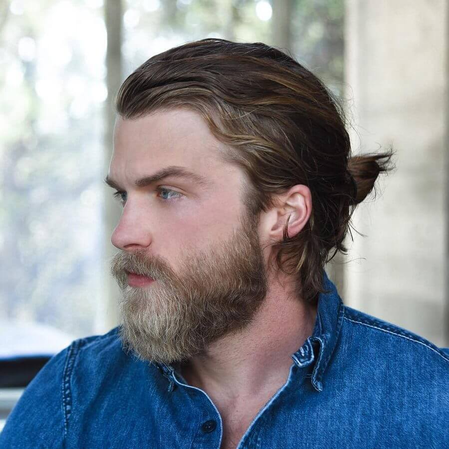 Bun Hairstyles for Men
