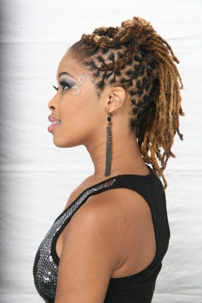 20 Short Dreadlocks Hairstyles Ideas for Women