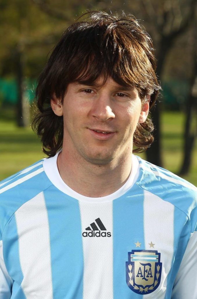 Messi Hairstyle Back - Persoalan s