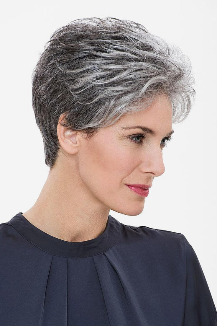 25 Grey Short Hairstyles For Women