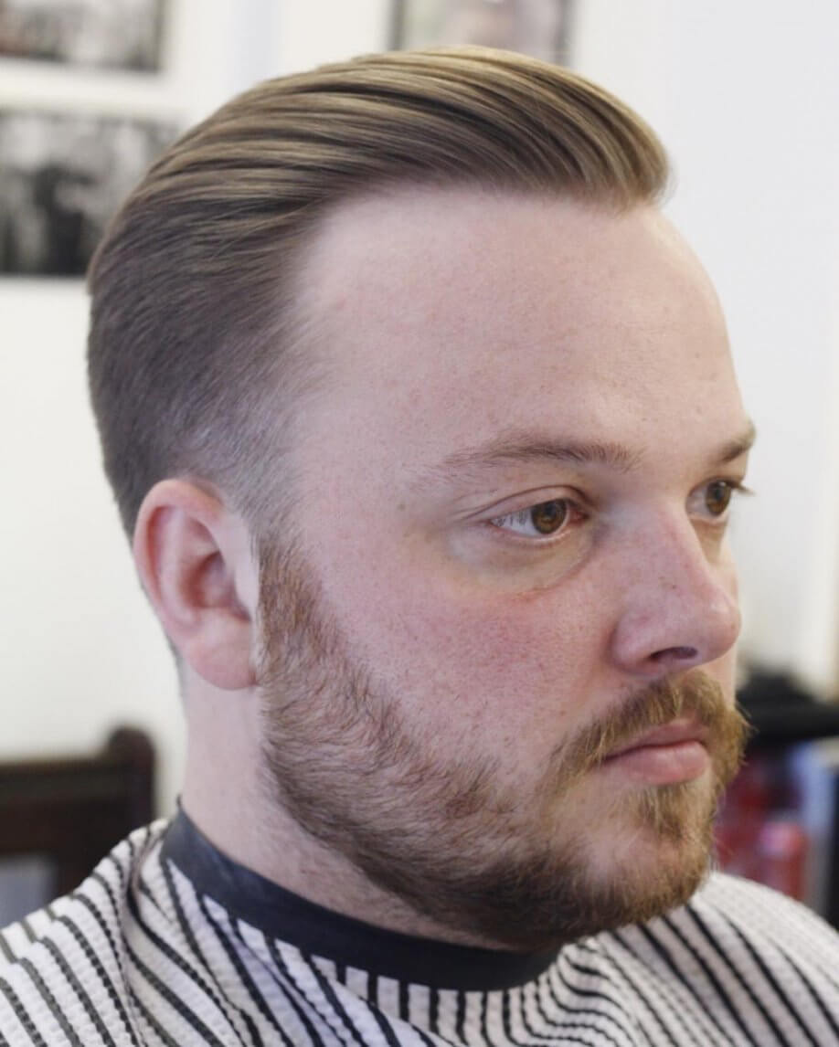 Hairstyle for Receding Hairline