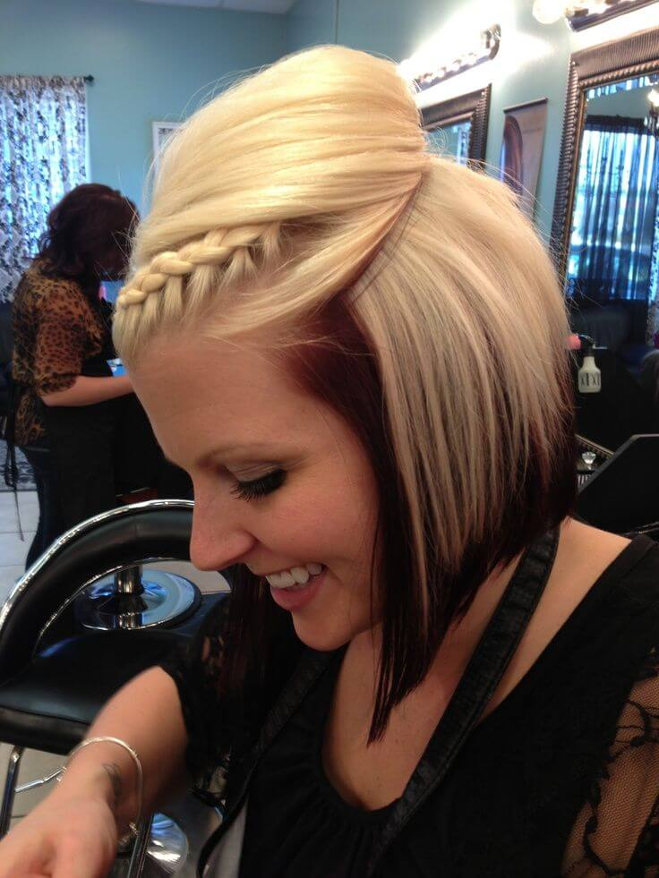 Updo Short Hairstyles
