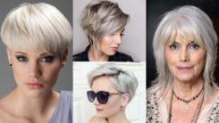 25 Perfect Grey Short Hairstyles Ideas for Women