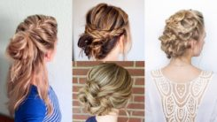 How to Create a Messy Braided Updo?