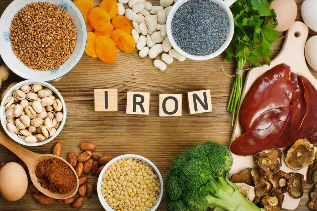 Consume Iron Rich Food