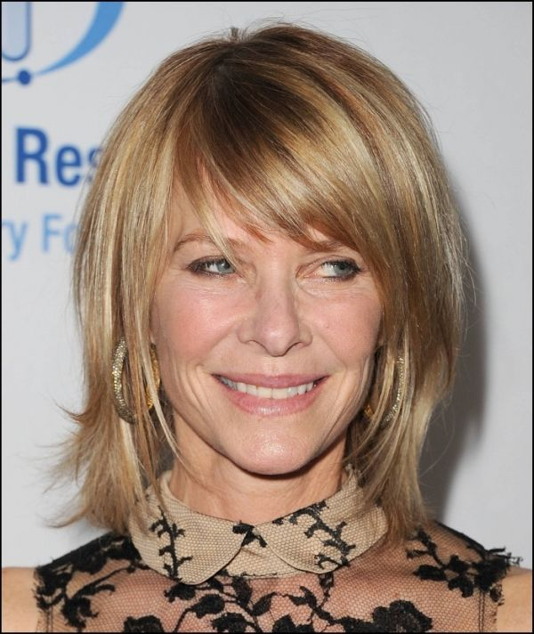 62 Hairstyles For Women Over 50 With Bangs