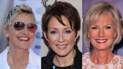 51 Hairstyles for Women Over 50 with Fine Hair