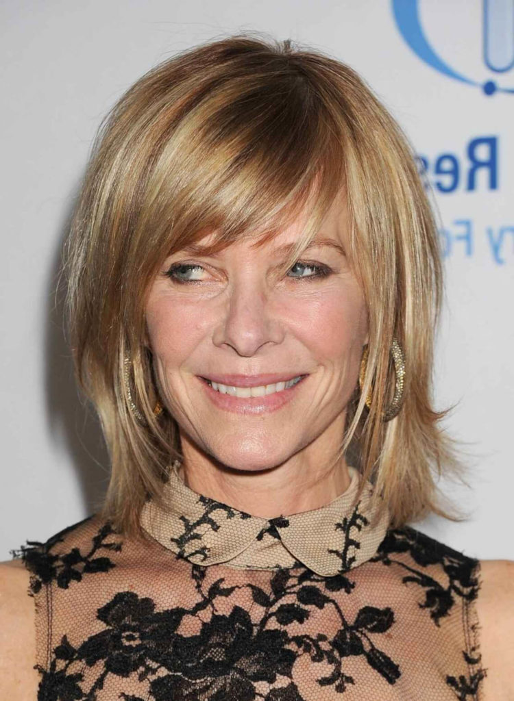 50 Hairstyles for Women Over 50 with Bangs