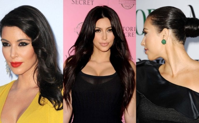 Roll Over 2k18 with Fresh Kim Kardashian Hairstyles