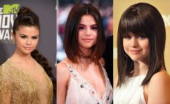 Shine Bright Like a Diamond with Selena Gomez Hairstyles in 2018
