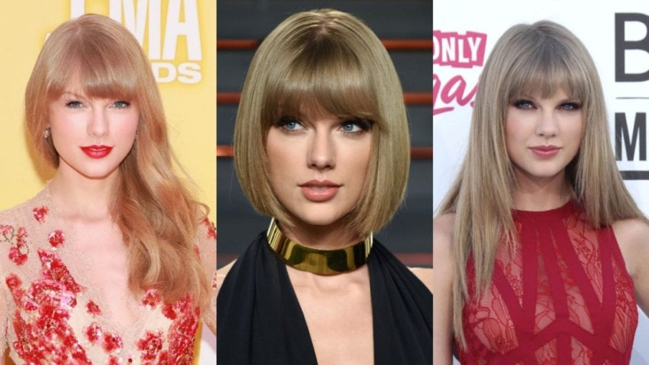 Taylor Swift Hairstyles Different Looks Sported By Swift