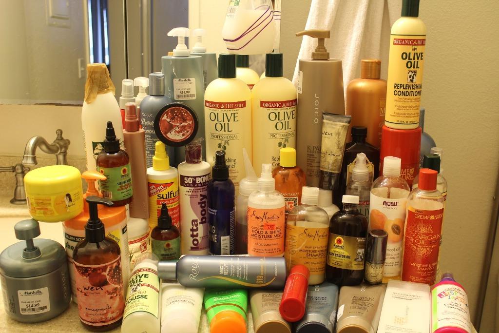 Avoid Hair Products