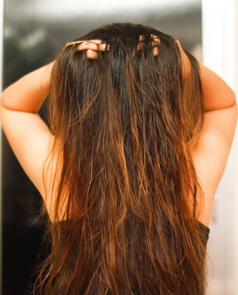 Avoid Touching Your Hair Too Often